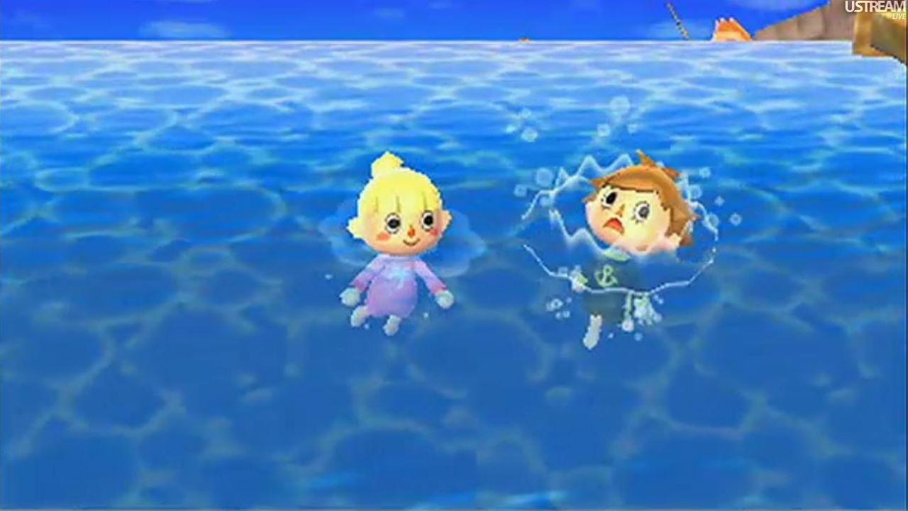 Animal Crossing New Horizons Pouvez Vous Nager Ou Plonger