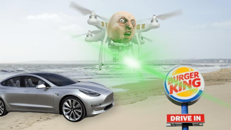 Burger King Expose Un Bug Du Pilote Automatique Tesla