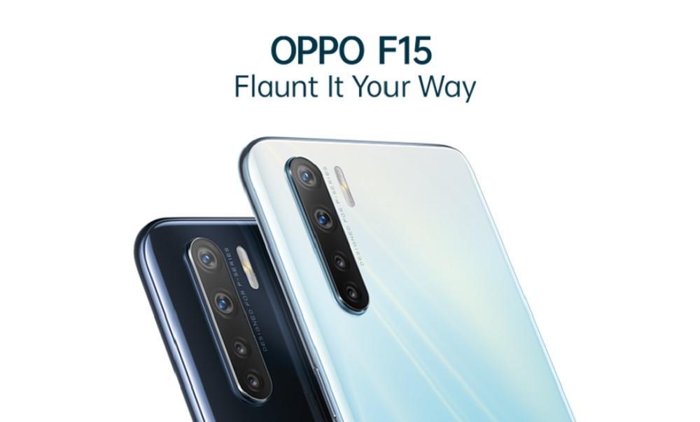 Oppo F15 Reçoit Le Premier Lot De La Version D'essai