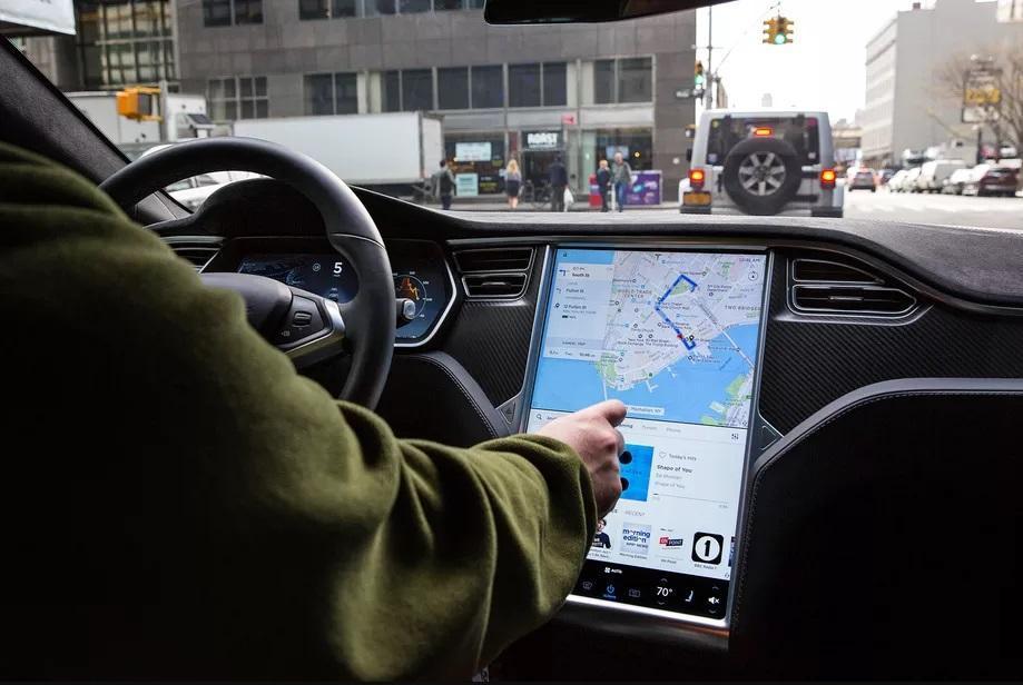 Tesla touch problème model S