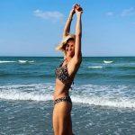 Martina Colombari, Pour La Première Photo Bikini De L'été 2020