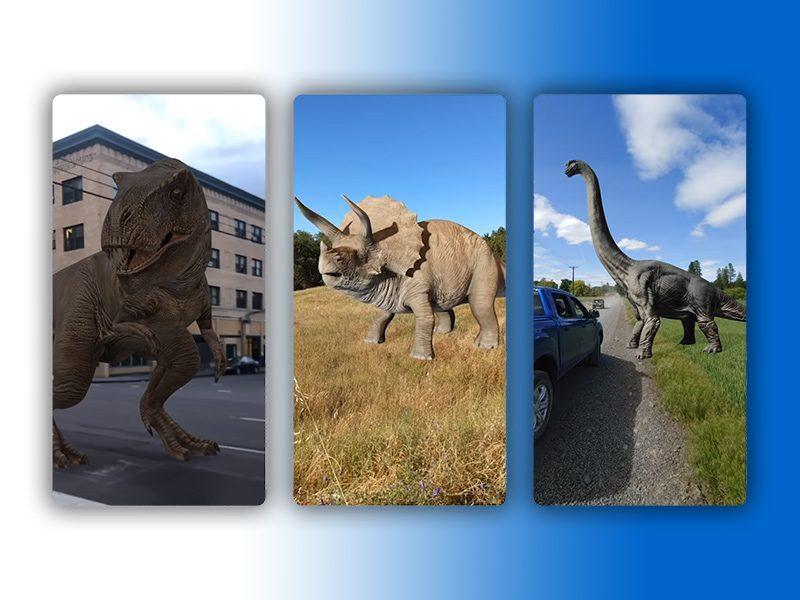 Google Vous Montre Des Dinosaures En Réalité Augmentée: Voici Comment