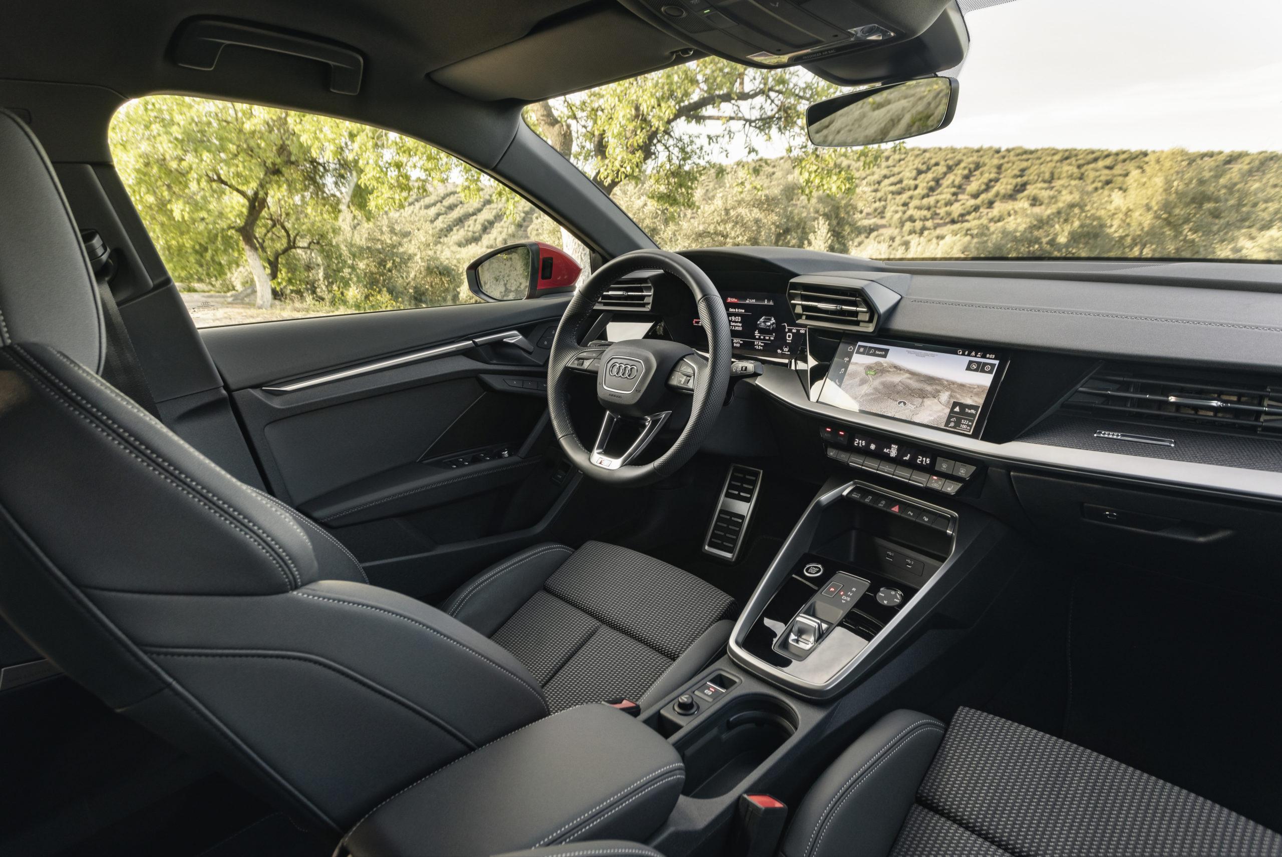 Intérieur de l'Audi A3