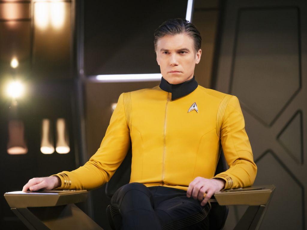 Série Star Trek Sur Pike Et Spock En Développement