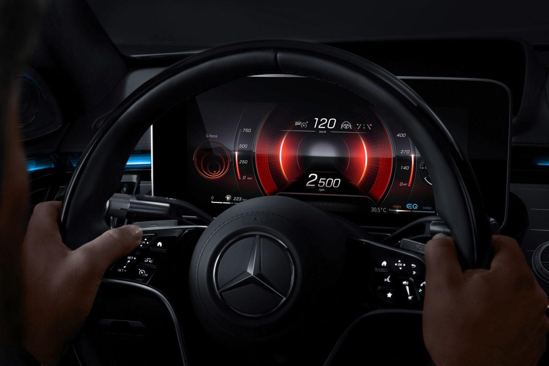 Intérieur de la Mercedes-Benz Classe S