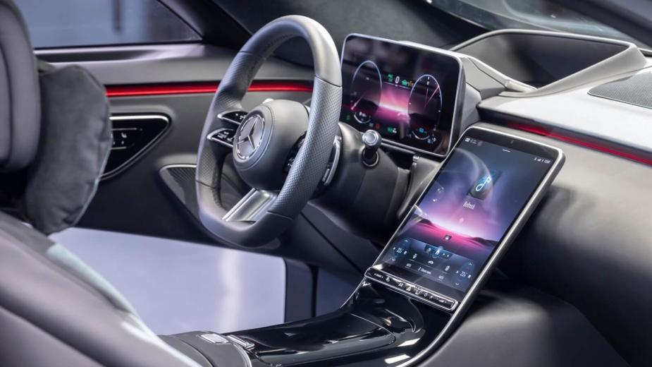 Révolution. C'est L'intérieur De La Nouvelle Mercedes Benz Classe S
