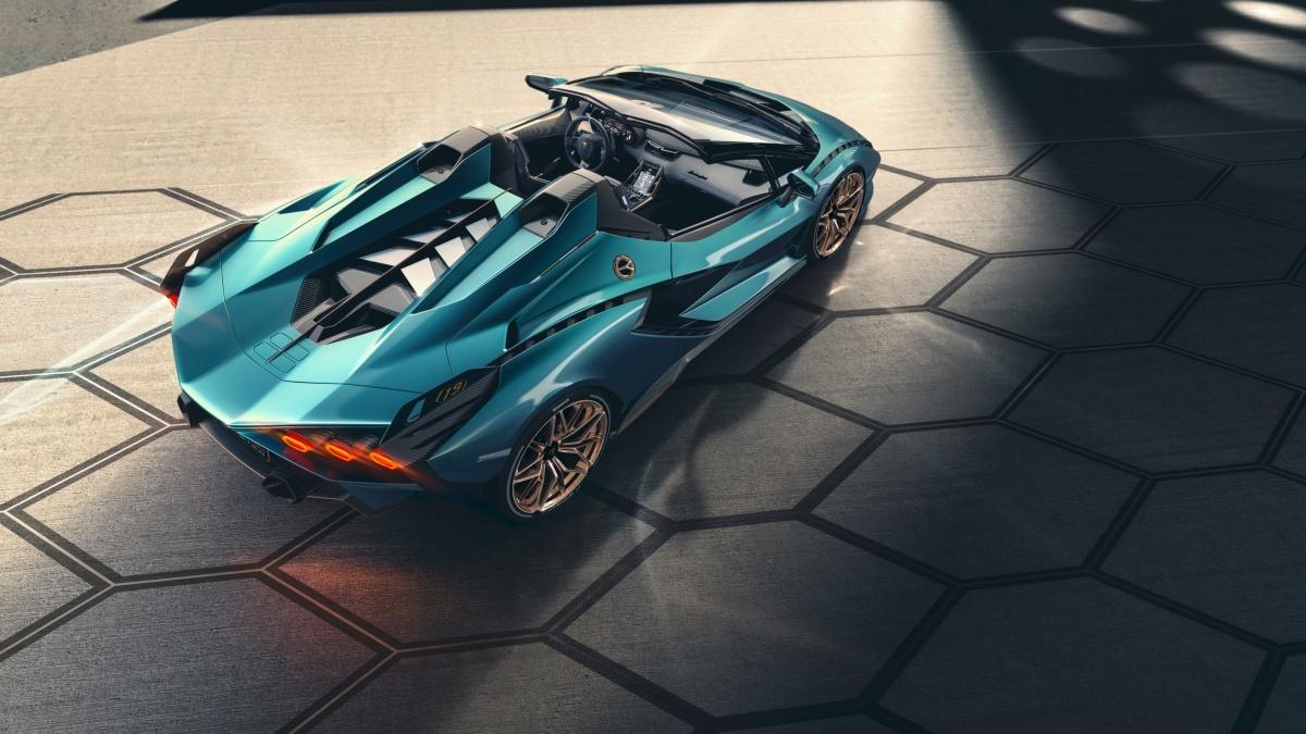 Le Lamborghini Sián Roadster