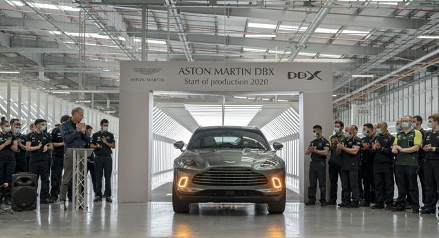 Aston Martin. Dbx Suv A Déjà Commencé à Quitter La