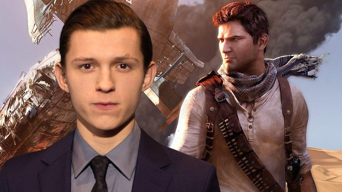 Uncharted: Apparent Premier échantillon De Tom Holland En Tant Que