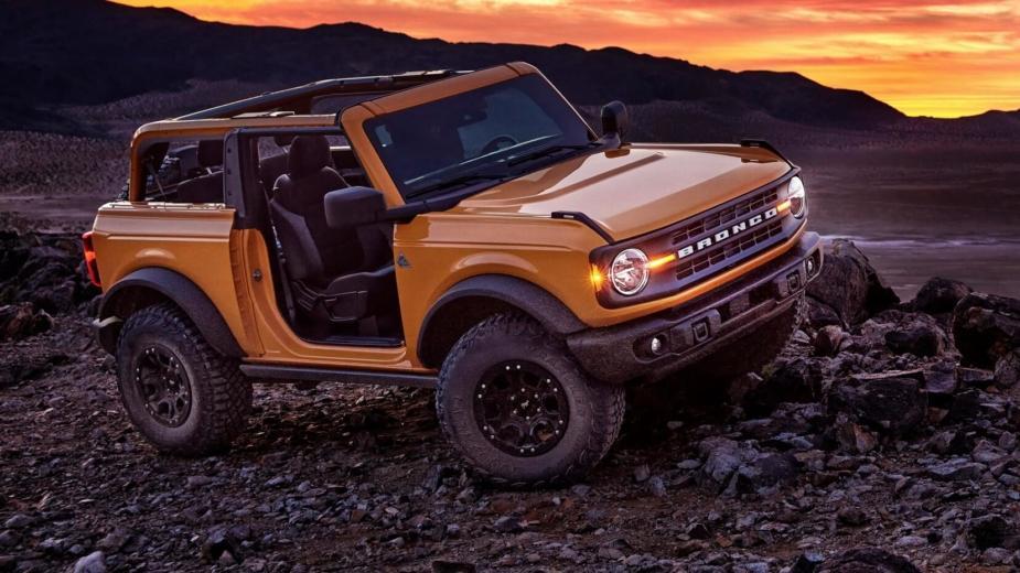 Les Pneus Goodyear De Ford Bronco Auront Leur Nom Caché.