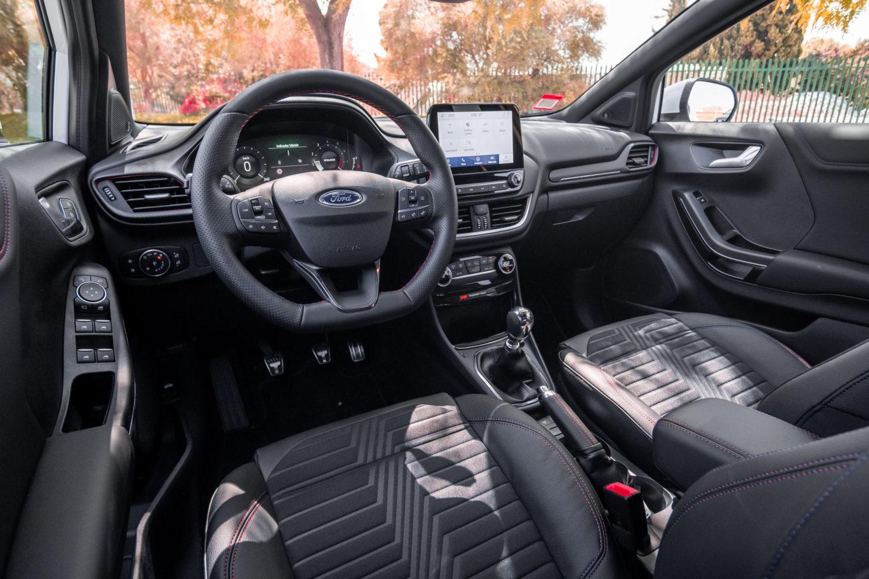 Intérieur de la Ford Puma