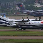 De la taille d'un Boeing 737, l'AG600 Kunlong est le plus grand hydravion du monde - c'était son premier vol dans l'eau