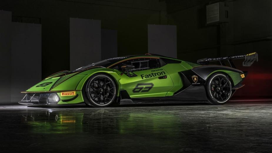 Essenza Scv12. Le «monstre» De Lamborghini Exclusif Aux Pistes