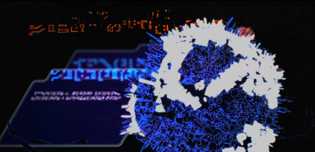 Cybertronian language alphabet from Transformers: War for Cybertron - Siege opening credits