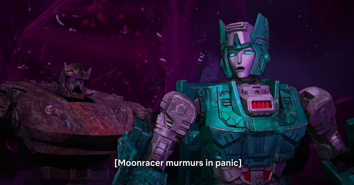 Netflix's New War For Cybertron Is Overloaded With Transformers References