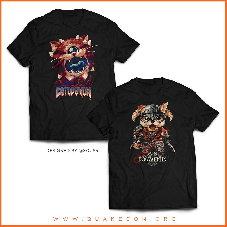 Marchandise QuakeCon At Home 2020