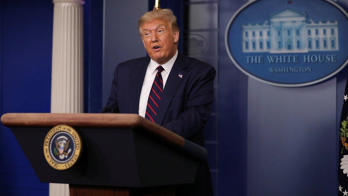 Vent De Face De L'intérieur Des Rangs: Trump Relativise L'idée