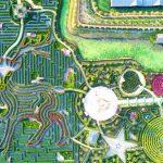 Le plus grand labyrinthe du monde est ce jardin colossal en Chine et nécessite plus de 9,4 kilomètres pour en sortir