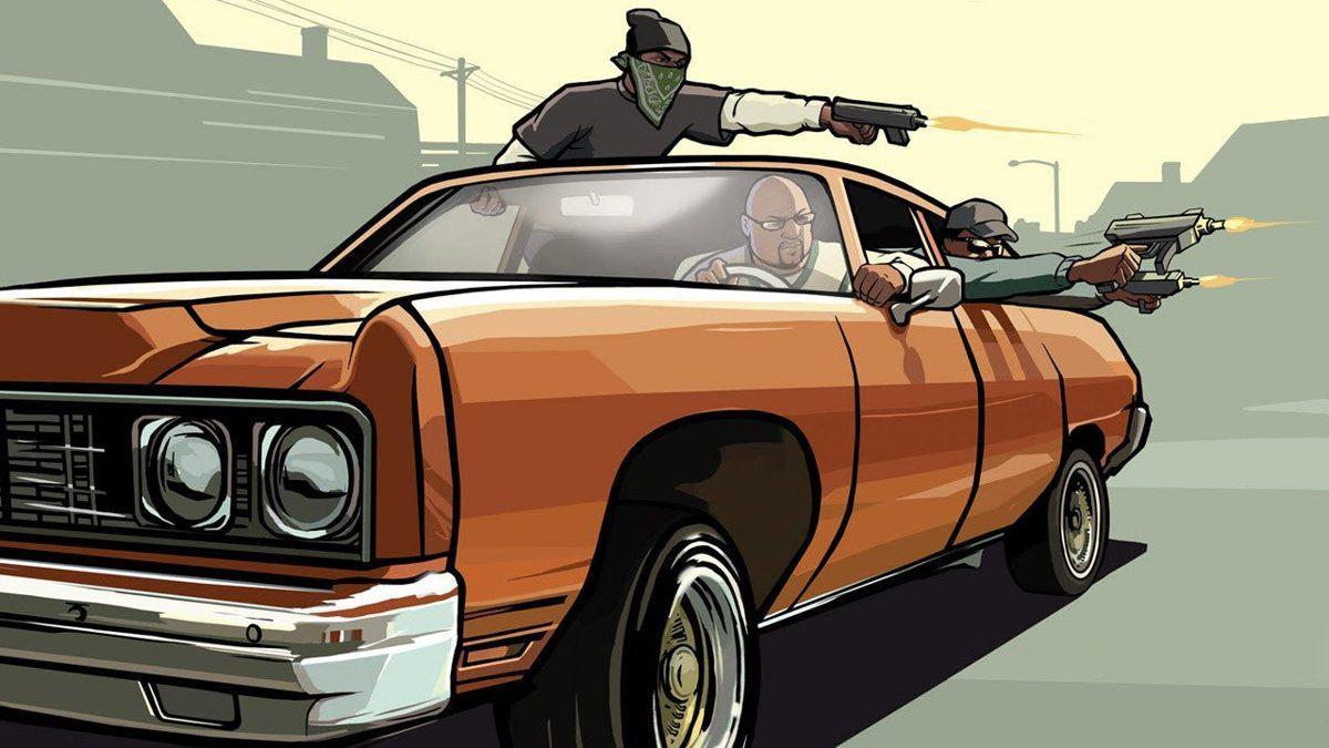 C'est Ainsi Que Gta: San Andreas Brille Dans Unreal Engine