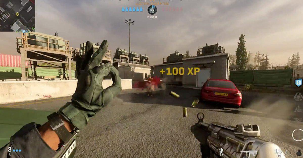 """Infinity Ward Supprime Le Geste """"ok"""" De Cod: Modern Warfare"""