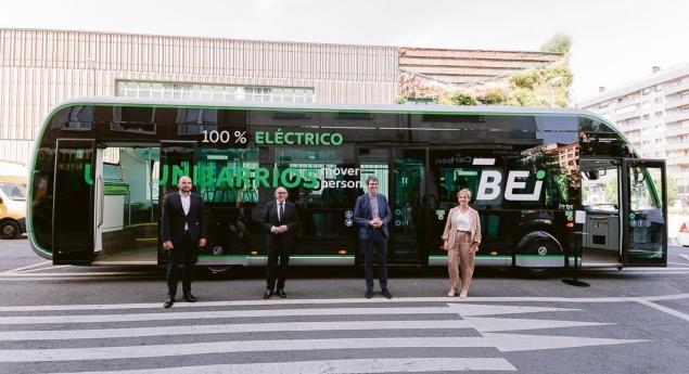 Irizar Ie Tram De 12 Mètres Présenté Au Pays Basque