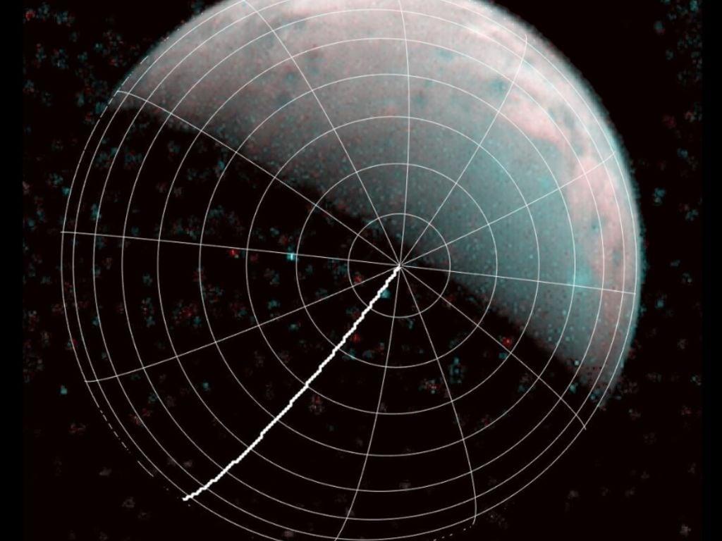 La NASA Juno capture les premières images du pôle nord de Ganymède - Jupiters Moon