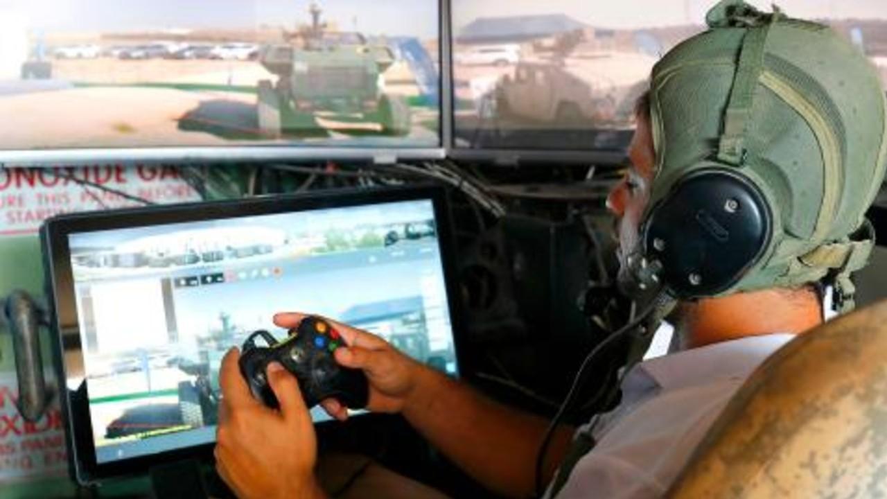 L'armée Israélienne Contrôle Les Chars Avec La Manette Xbox