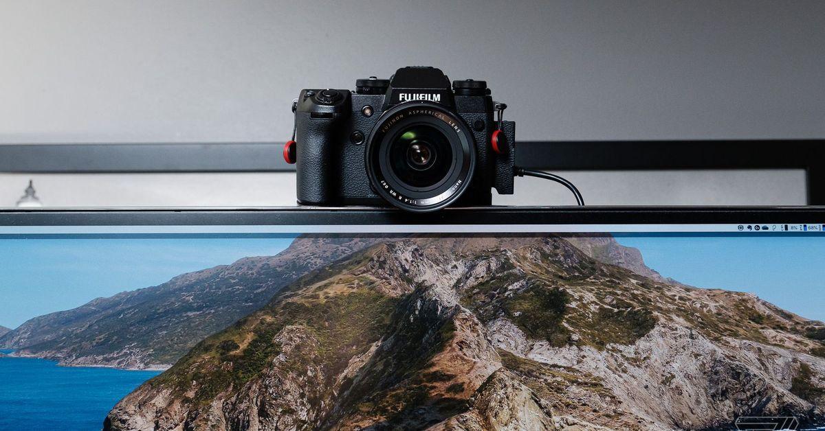 L'outil Webcam Macos De Fujifilm Est Maintenant Disponible