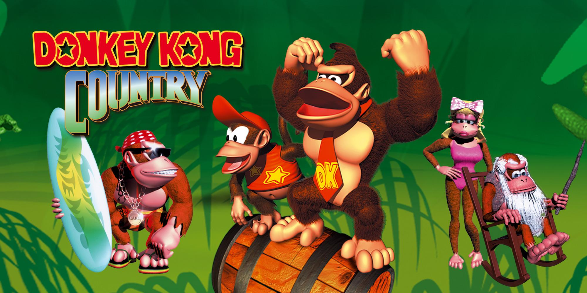 Nintendo Switch Online Donkey Kong Country