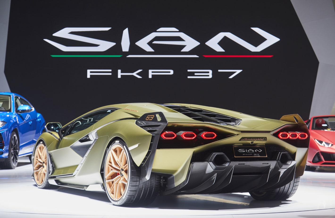 Le Lamborghini Sián Coupé