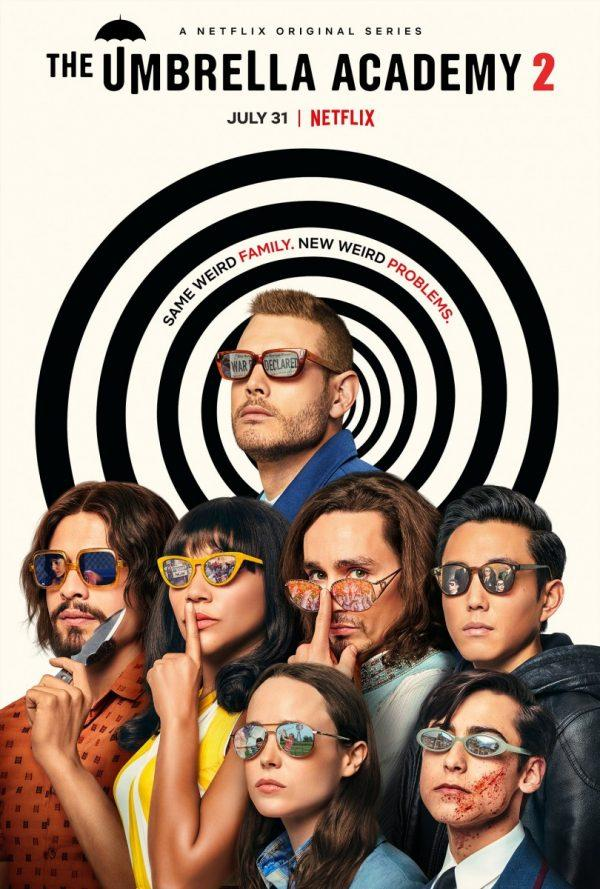 Revue Netflix The Umbrella Academy Saison 2
