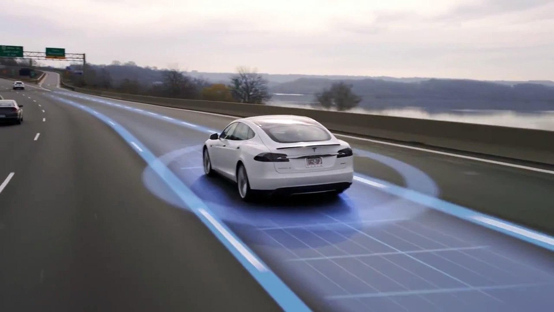 Pilote automatique Tesla Model S