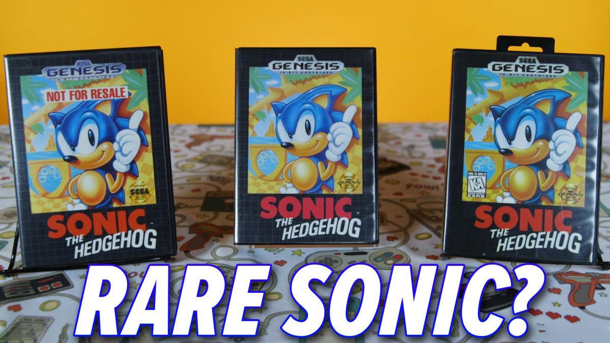 Votre Copie De Sonic The Hedgehog Pourrait être Une Rareté