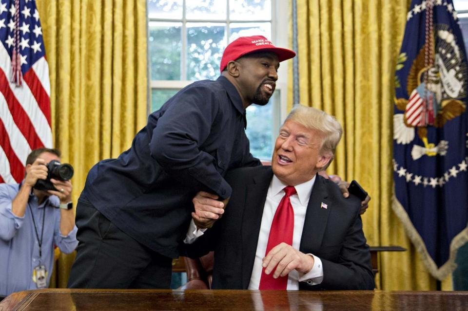 Kanye West President 2024 Trump