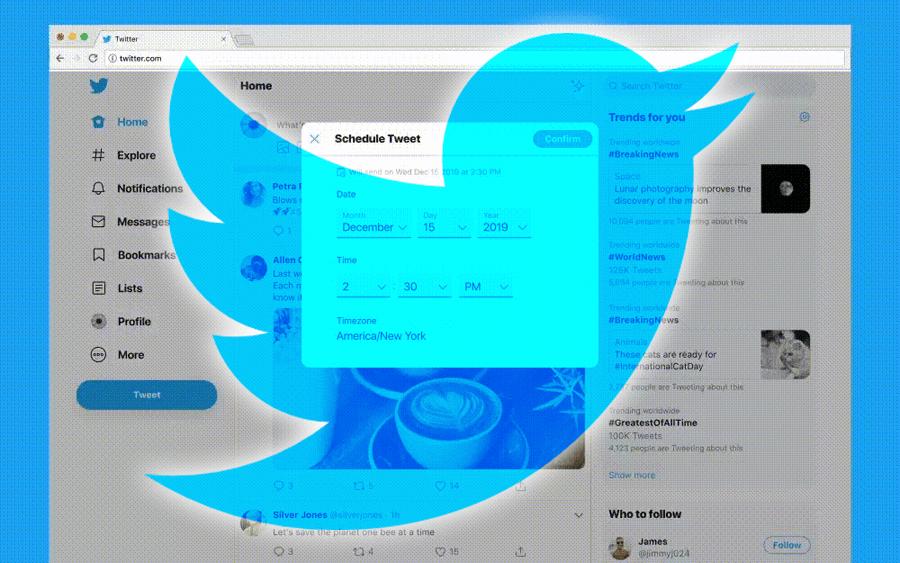 Twitter Programmation Tweet Planifier