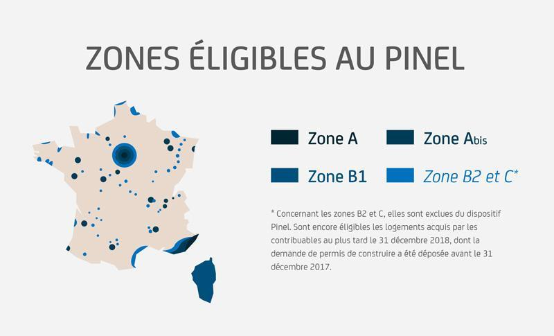 Zone Eligible Au Pinel
