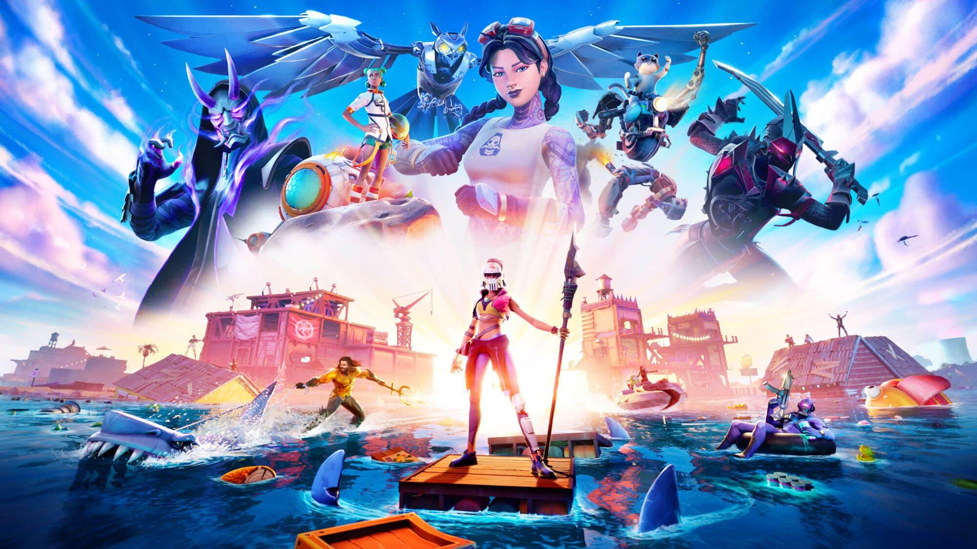 Fortnite: Atlantis Apparaît Sur La Carte Après La Baisse Du