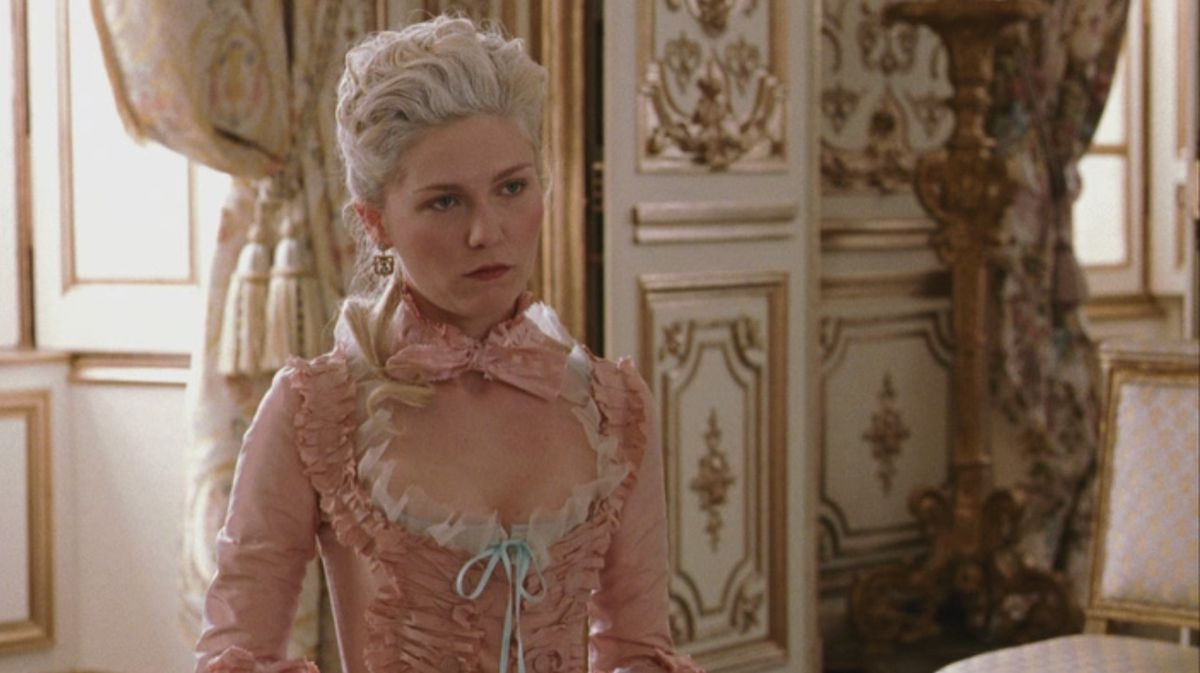 Kirsten Dunst comme Marie Antoinette