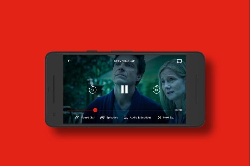 Netflix affiche pour tous les utilisateurs les commandes pour changer la vitesse de lecture et regarder la série à 1,5x