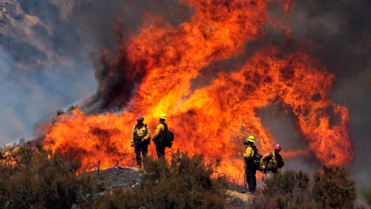 Près De 8000 Personnes évacuées: L'incendie En Californie Devient Incontrôlable