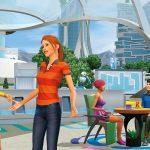 Le Menu Principal Des Sims 4 Affiche Le Logo Cosmique