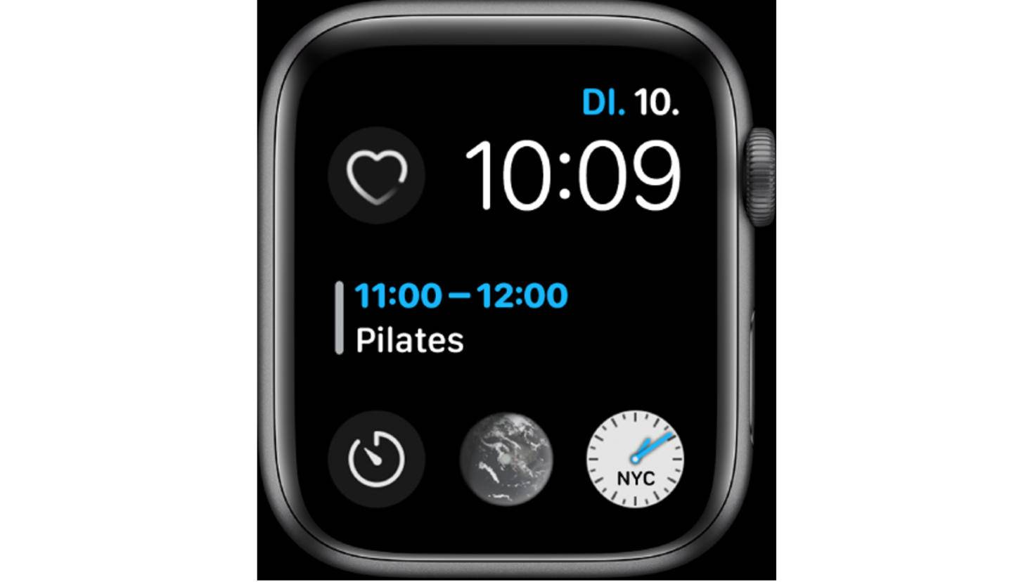 Infographie Apple Watch modulaire