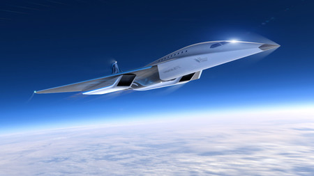 Avion Virgin Galactic Mach 3 3