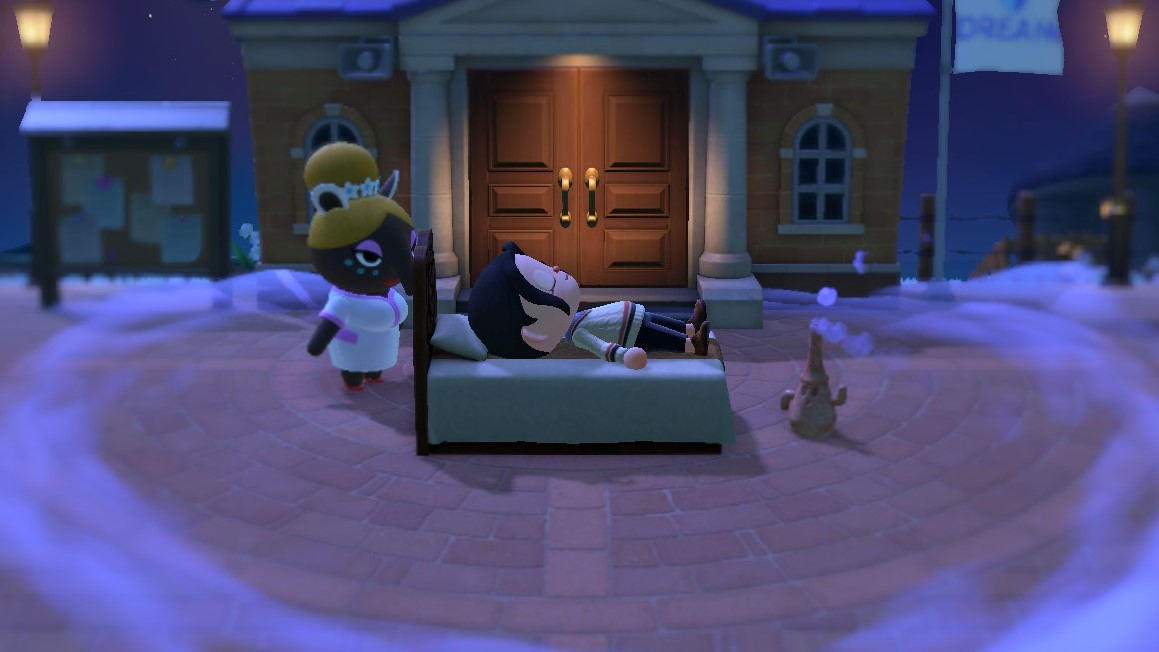 Rêve dans Animal Crossing: New Horizons