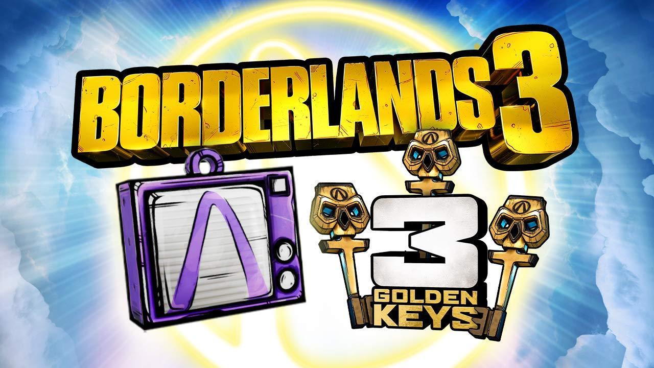 Borderlands 3: Très Rapide, Obtenez 3 Nouvelles Clés D'or Gratuites