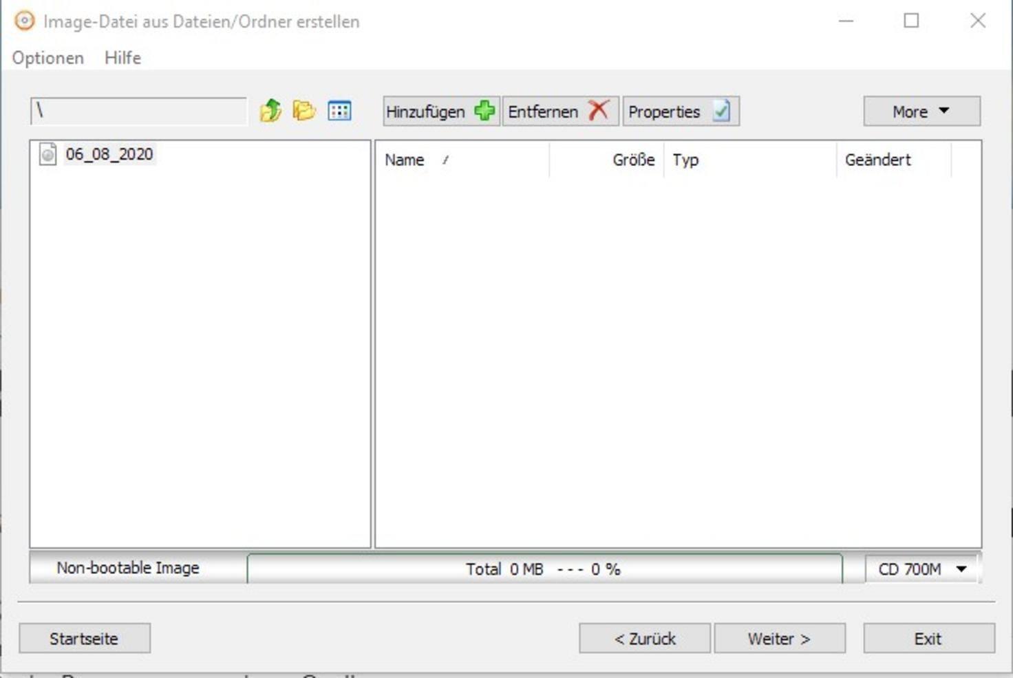 """... naviguez dans la fenêtre des fichiers en cliquant sur """"Ajouter"""" aux dossiers et fichiers qui ..."""