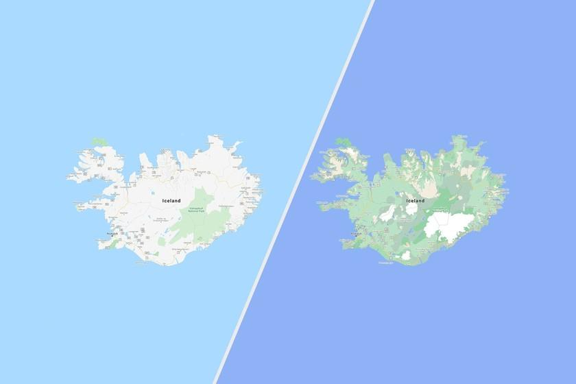 Google Maps est mis à jour dans le monde entier avec des cartes plus détaillées et des couleurs plus précises