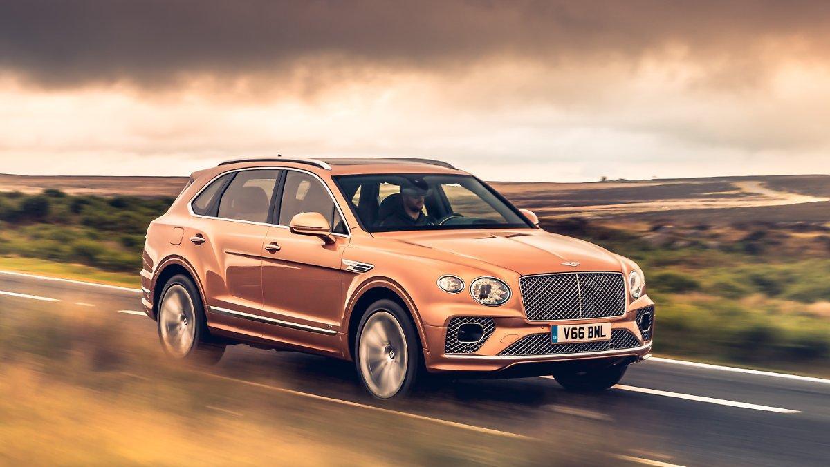 Joliment Désarmé: Bentley Bentayga Aristocrate Avec Réduction Des Effectifs
