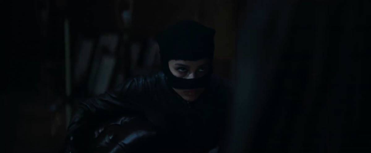 selina kyle aka catwoman dans The Batman 2021