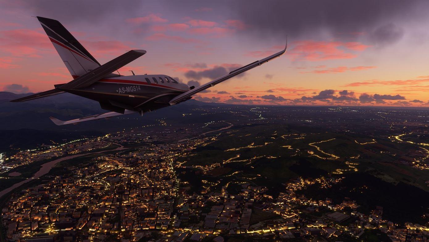 Flight Simulator 2020 - Nuit